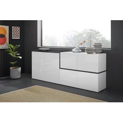 Tecnos Sideboard Zet, Breite 210 cm weiß