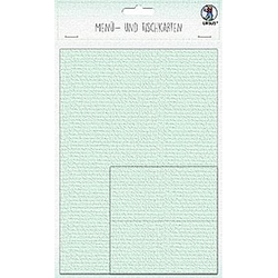 URSUS 3 Menükarten und 12 Tischkarten  mint