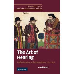 The Art of Hearing als Buch von Arnold Hunt