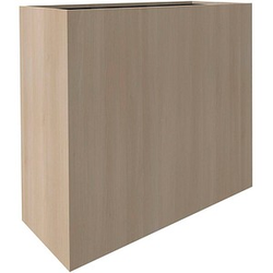 fm Plant Pflanzkübel Holz 106,2 x 38,0 x 80,0 cm akazie