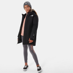 The North Face Girls Arctic Swirl Parka tnf black (JK3) XS