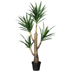 Künstliche Zimmerpflanze Dracaena fragans Dracaena fragans, Creativ green, Höhe 160 cm, im Zementtopf
