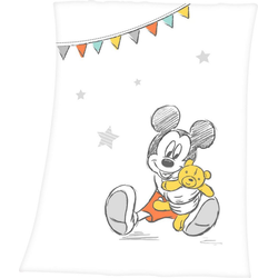 Babydecke Disney´s Mickey Mouse, Walt Disney, mit niedlichem Mickey Mouse Design