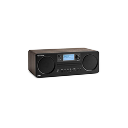 Auna Worldwide CD Internetradio Spotify Connect App Control Bluetooth walnuss Radio (UKW, DAB+, WLAN-Radio, 10 W, Bluetooth, mit Bluetooth, 2.1 System mit FM/DAB+, WLAN, Bluetooth, CD-Player)