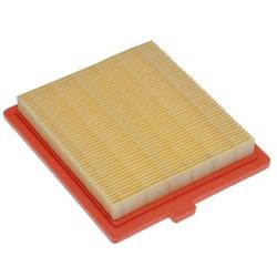 vhbw Ersatzfilter (1x Luftfilter) Ersatz für Castelgarden 118550147/0, 18550147/0 für Rasenmäher; 12,2 x 10,8 x 2cm