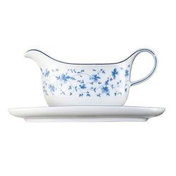 Arzberg Form 1382 Blaublüten Sauciere 0,35 L Form 1382 Blaublüten 41382-607671-11620