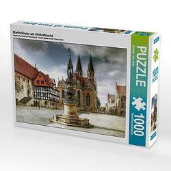 Martinikirche am Altstadtmarkt Lege-Größe 64 x 48 cm Foto-Puzzle Bild von uwe vahle Puzzle
