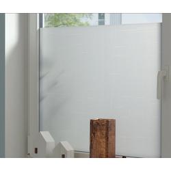 Fensterfolie Textile 75, GARDINIA, blickdicht 45 cm x 150 cm