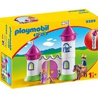 Playmobil 1.2.3 Schlösschen mit Stapelturm (9389)