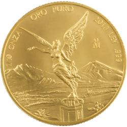 1/10 Unze Gold Mexiko Libertad diverse Jahrgänge