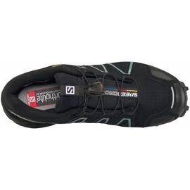 Salomon Speedcross 4 GTX W black/black/metallic bubble blue 38