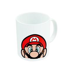 Super Mario Tasse Super Mario Becher weiss (325 ml)