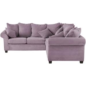 Ecksofa ¦ lila/violett ¦ Maße (cm): H: 70 » Möbel Kraft