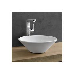 neu.haus Waschbecken, Jarvis Keramik Aufsatzwaschbecken weiß