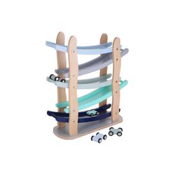 Kindsgut Kugelbahn, (5-tlg), Murmelbahn, Motorik-Spielzeug, Auto, Baby, unisex, Lern-Spielzeug aus Holz für Klein-Kinder, umweltfreundlich