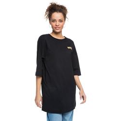 Tshirt ROXY - Macrame Hour A Black (KVJ0) Größe: M