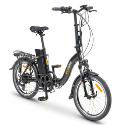 breluxx E-Bike ecobike Faltrad Even Black 20
