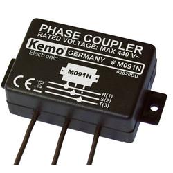 Kemo Powerline M091N Phasenkoppler Baustein Eingangsspannung (Bereich): 400 V/AC (max.)