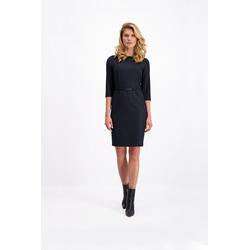 Lavard Dunkelblaues Kleid für die Arbeit 84211
