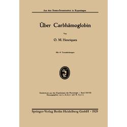 Über Carbhämoglobin als Buch von O. M. Henriques