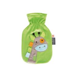 Fashy Wärmflasche Wärmflasche, Giraffe, grün