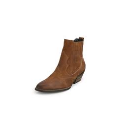 Stiefelette im trendigen Cowboy-Stil Paul Green braun