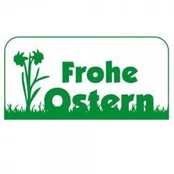 Ostern Holzstempel - Blumen (60x30 mm)
