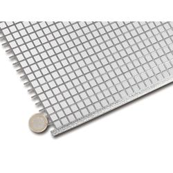 Lautsprechergitter Quadrat 1000 x 500mm