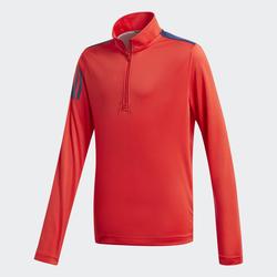3-Streifen Half-Zip Pullover
