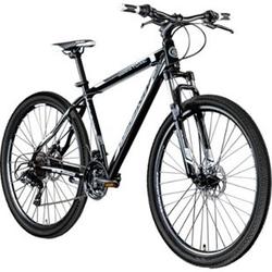 Galano Toxic 29 Zoll Mountainbike Hardtail MTB Fahrrad Scheibenbremsen Shimano Tourney... schwarz/weiß