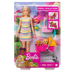 Barbie Hunde-Buggy Puppenzubehör-Set