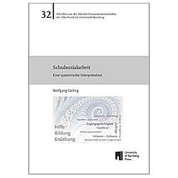 Schulsozialarbeit. Wolfgang Geiling  - Buch