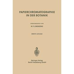 Papierchromatographie in der Botanik als Buch von