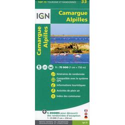 Camargue Alpilles 1:75 000