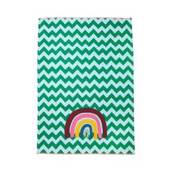 """rice Geschirrtuch Geschirrtuch """"Candy Stripes"""", 50x70cm grün"""