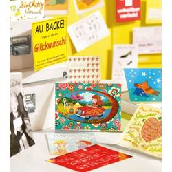 Postkarte Pappe bunt MODERN TIM Postkarte (BH 10,5x15 cm)
