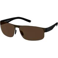 Porsche Design P8531 D black matt/brown grey/brown