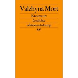 Kreuzwort: eBook von Valzhyna Mort