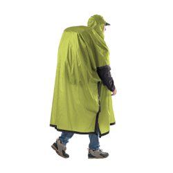 Sea To Summit - Poncho Tarp UL 15 D Limette - Ponchos