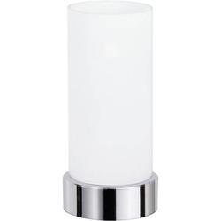 Paulmann Pinja 77029 Tischlampe Halogen E14 40W Chrom, Opal