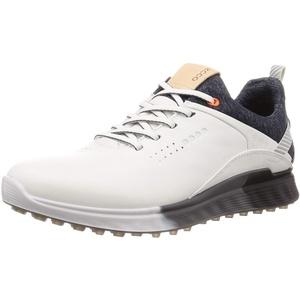 ECCO Herren M Golf S-Three 2020 Golfschuh, White, 43 EU