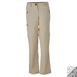 Damen Trekkinghose | James & Nicholson stone XXL