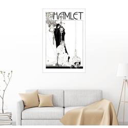 Posterlounge Wandbild, Hamlet 20 cm x 30 cm