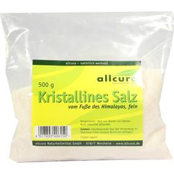 KRISTALLINES Salz v.Fuße d.Himalaya fein gem.