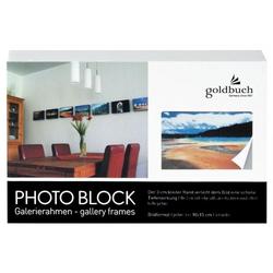 Goldbuch 90 0121 Blockrahmen 10x15 weiss