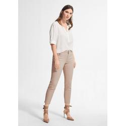 Comma 7/8-Jeans Slim Fit: Hose im Chintz-Look 40.LONG