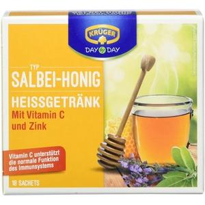 KRÜGER Kalt/Heißgetränk Salbei Honig, 10er Pack (10 x 0.144 kg)