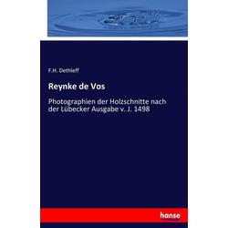 Reynke de Vos als Buch von F. H. Dethleff