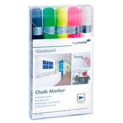 5 Legamaster Chalk marker Kreidemarker farbsortiert