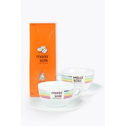 MariaSole Caffè Crema & Milchkaffeetassen zum Aktionspreis